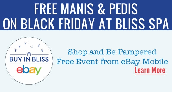 Black Friday Done Right – Free Pedicures While Shopping!