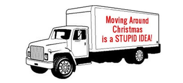 moving around christmas
