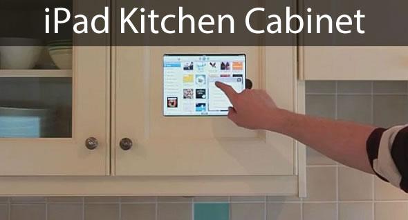 ipad kitchen cabinet