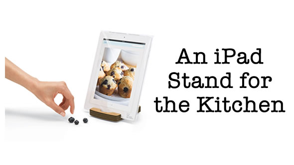 Chef Sleeve – Kitchen iPad Stand
