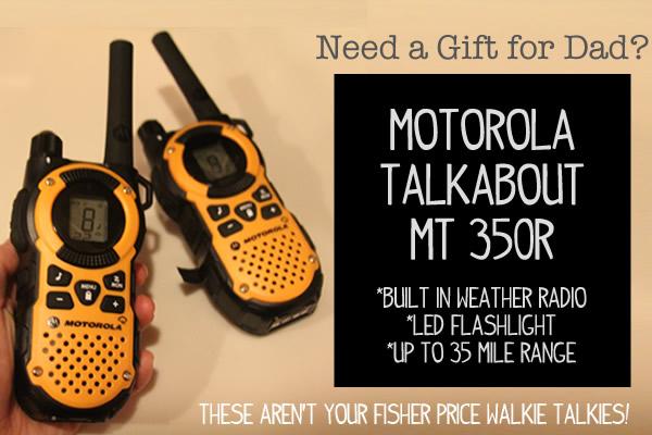 Motorola Talkabout Walkie Talkie