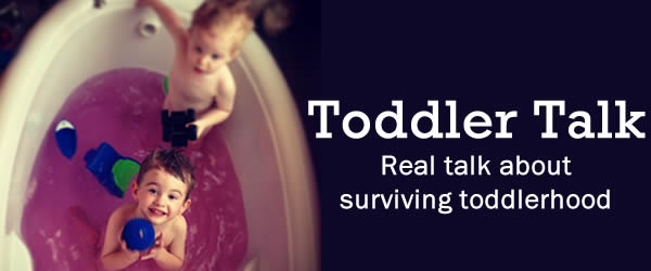Talking about parenting toddlers