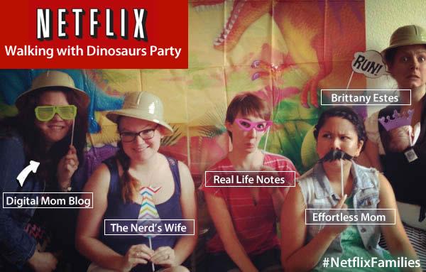 netflix blogger party