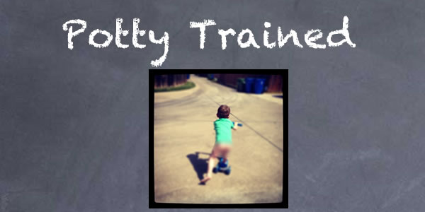 potty-trained