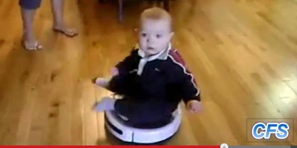 babies on roombas