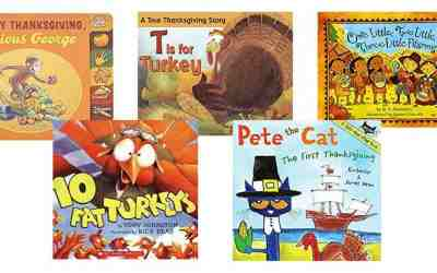 20 BEST Thanksgiving Books for Kids