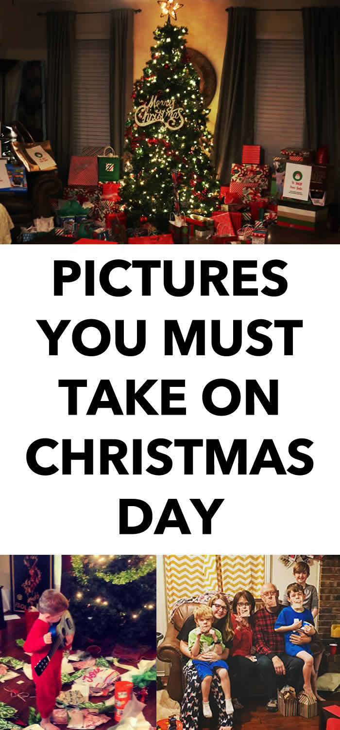 Christmas Day Photos to Take