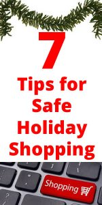 safe holiday shopping tips