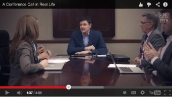 conference call viral video