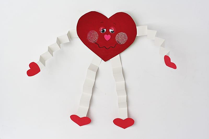 valentine hug cereal card