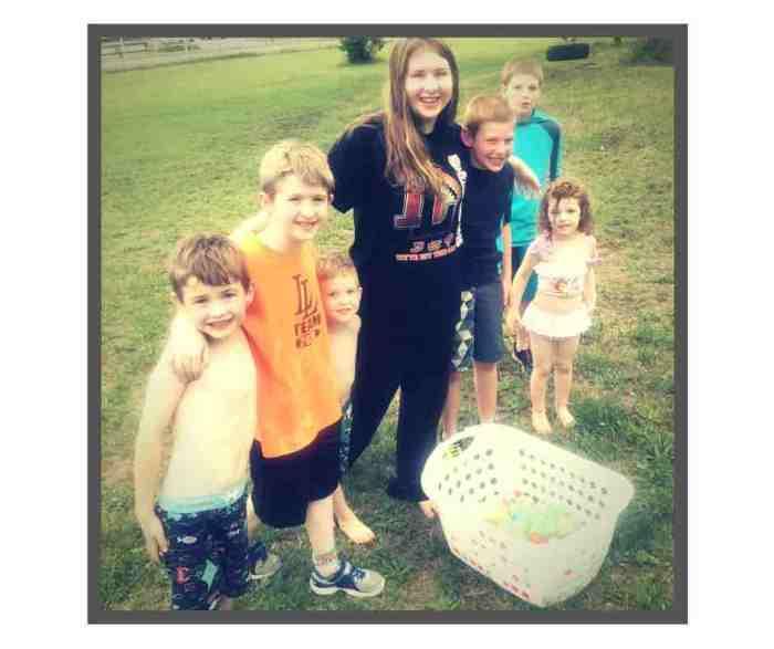 water balloon fight summer kids