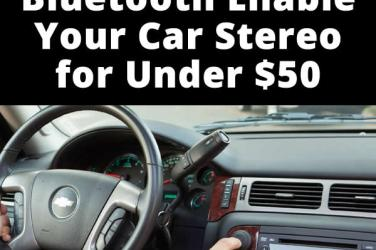 bluetooth enable car stereo