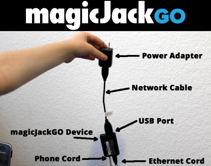 magicjackgo installation and setup