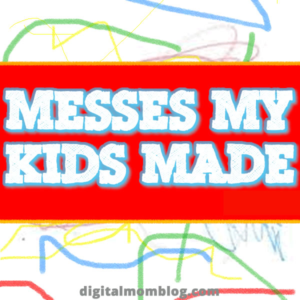 Messes My Kids Made – Sharpie on the Kitchen Counter and Cabinets