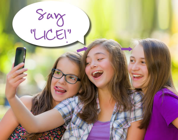 teens lice spreading thru selfies