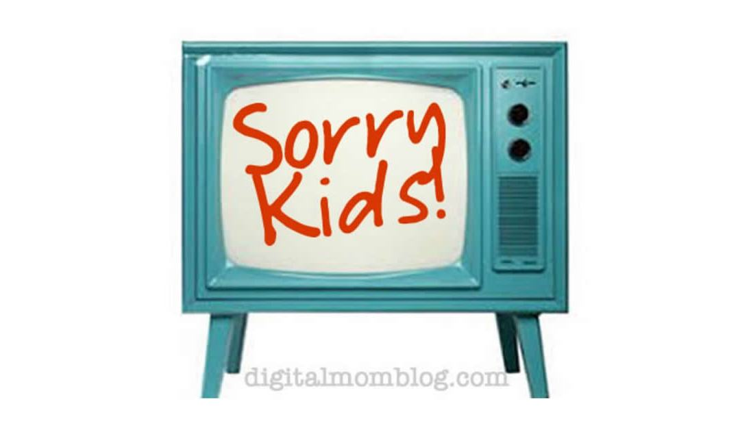 Sorry Kids – No Screens in the Bedroom