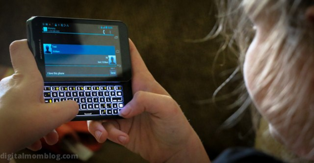 Kids Just want to text message