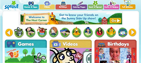 Sprout Online for Toddlers