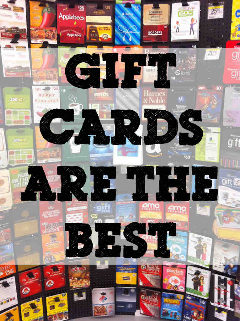 best gift are gift cards