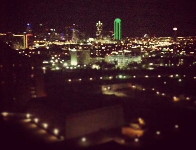 downtown dallas view anatole