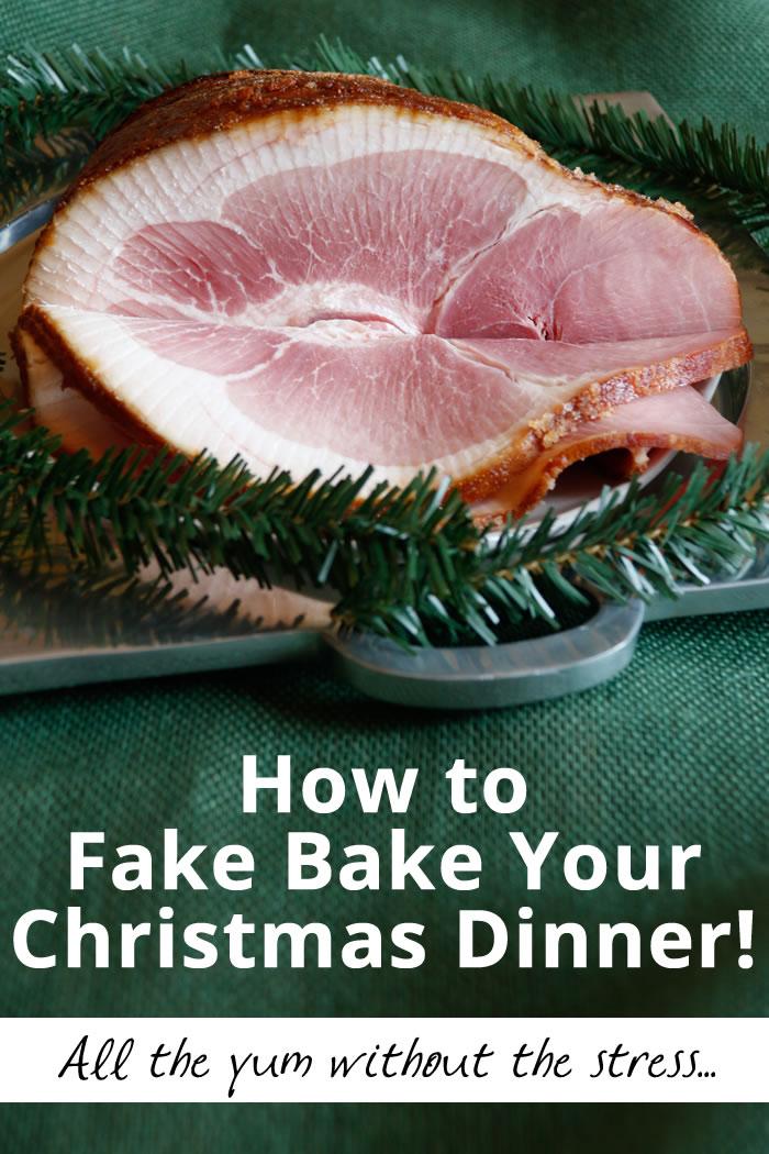 Fake Bake Christmas Dinner