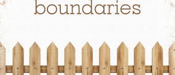 drawing boundaries homeschool