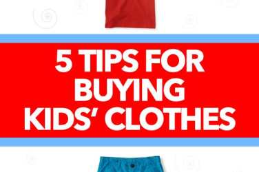 Tips for Buying Kids Clothes