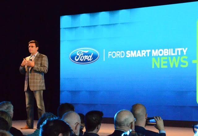 Mark Fields Ford CEO Keynote