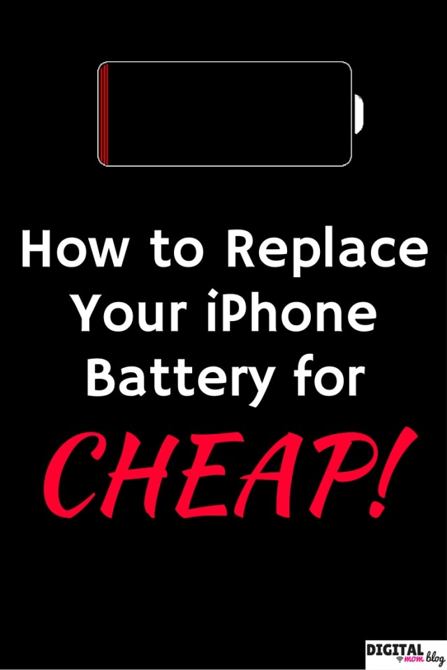 Replace Your iPhone Battery for C