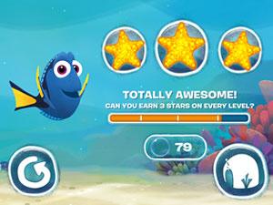 3 stars finding dory app