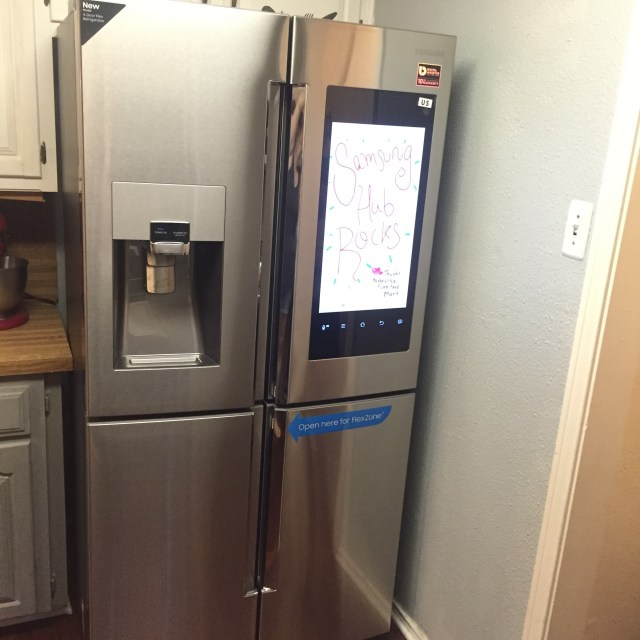 samsung hub smart refrigerator wifi