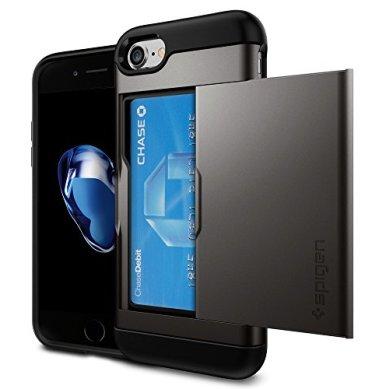 Spigen Card Holder Case - Best iPhone 7 Cases from Digital Mom Blog