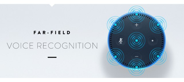 Amazon Echo Dot Farfield Recognition