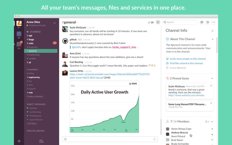 Slack - best small business apps