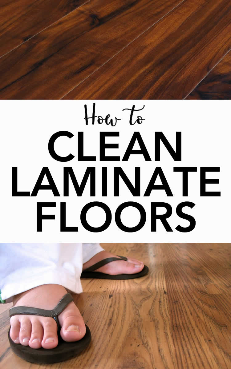 how to clean laminate floor