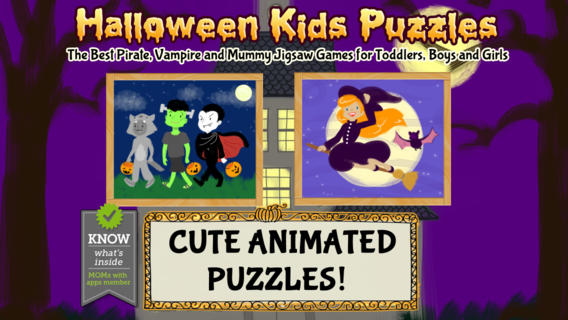 free Halloween kids apps
