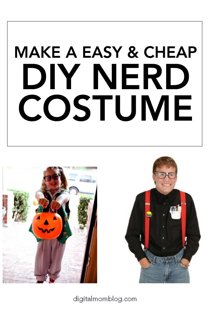 Make a easy and cheap diy nerd costume