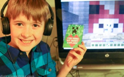 Free Minecraft Valentines Day Cards – Print at Home – Your Kids Will Love Them!