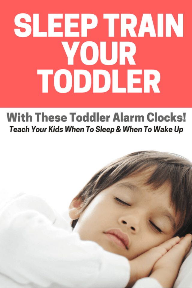 best toddler alarm clocks