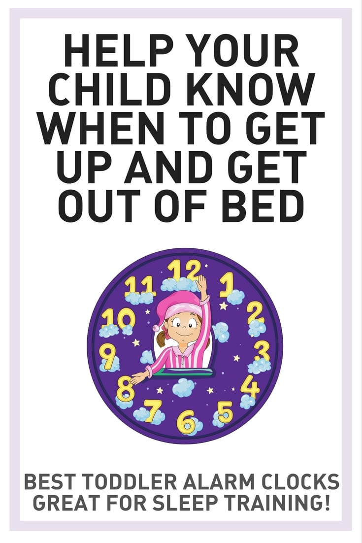 features clock reads help your child know when to get up and get out of bed best toddler alarm clocks great for sleep training
