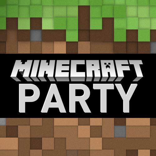 Free Minecraft Evite - vertical invitation