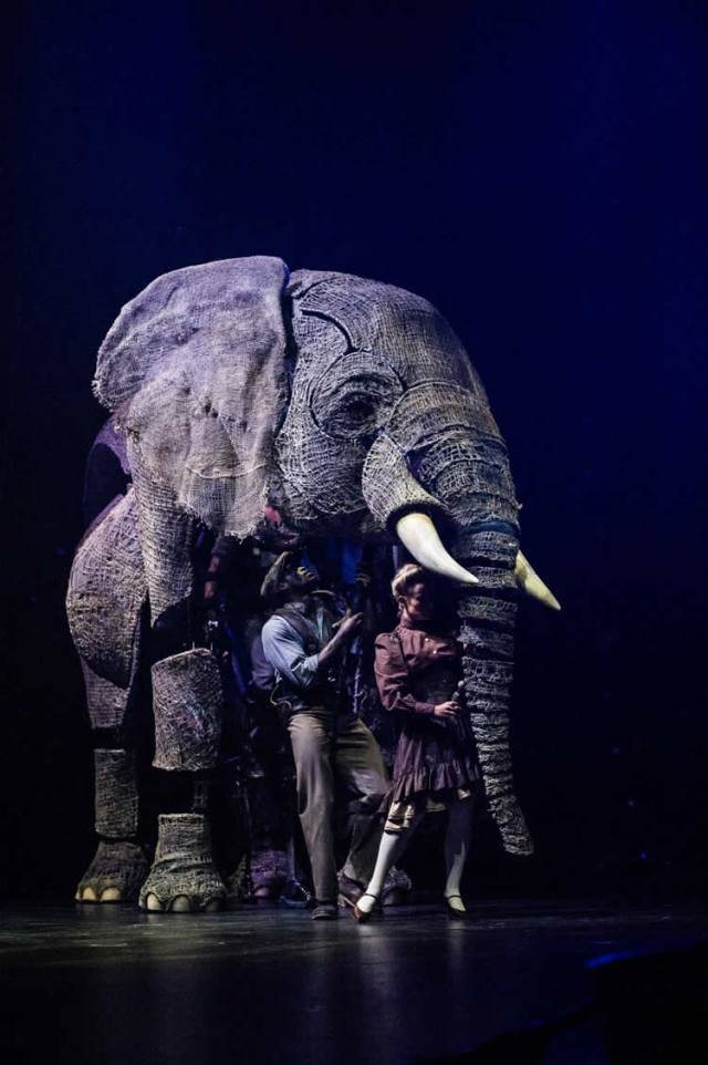 Dallas Circus Elephants Puppets