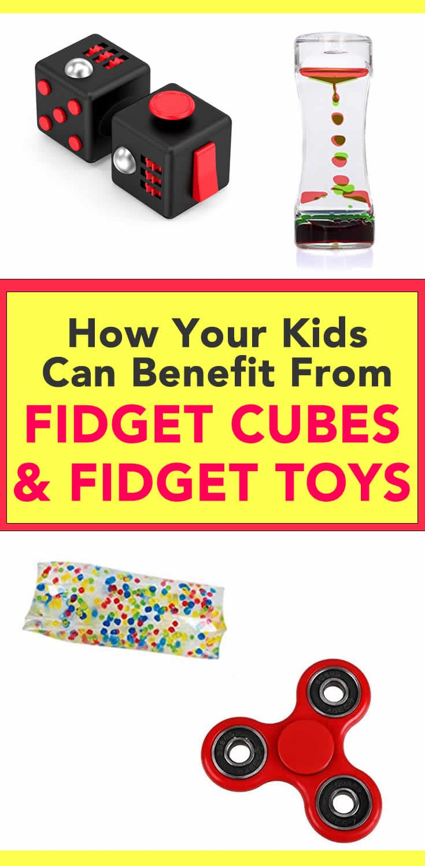 fidget cubes fidget toys benefits - Shop Digital Mom's Faves