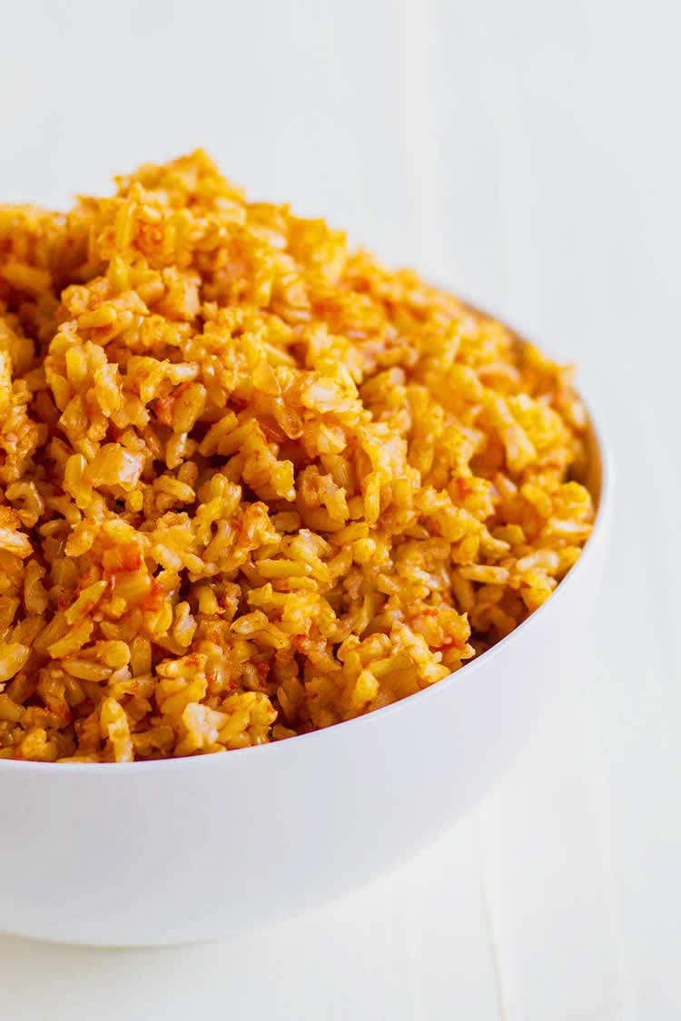Best Mexican Instant Pot Recipes - Spanish Rice