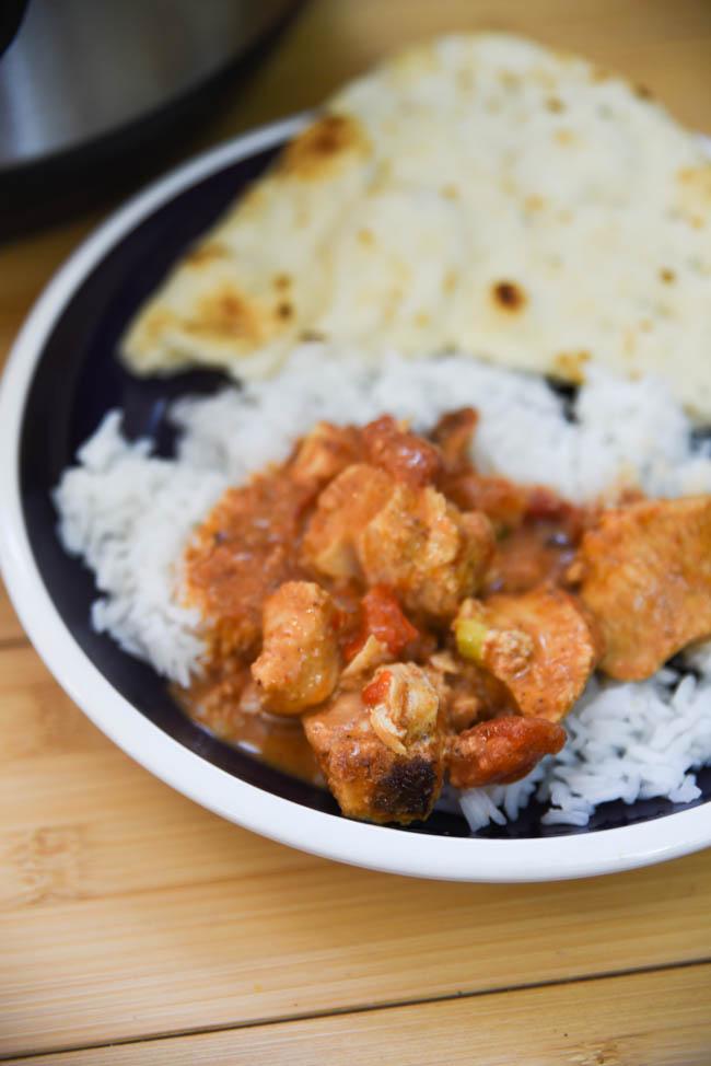 Chicken Tikka Masala Instant Pot Indian Recipe - best indian instant pot recipe