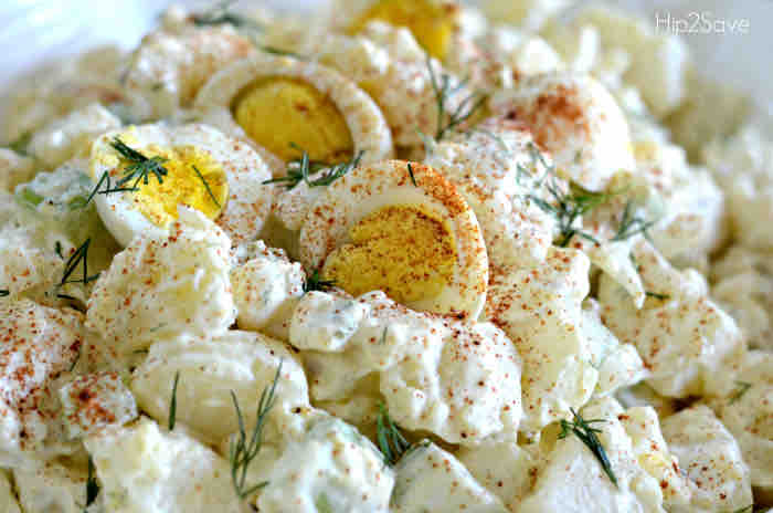 Instant Pot Potato Salad - July 4th Picnic Ideas