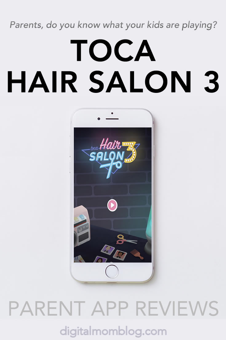 Toca Hair Salon 3 App Review for Kids and Parents