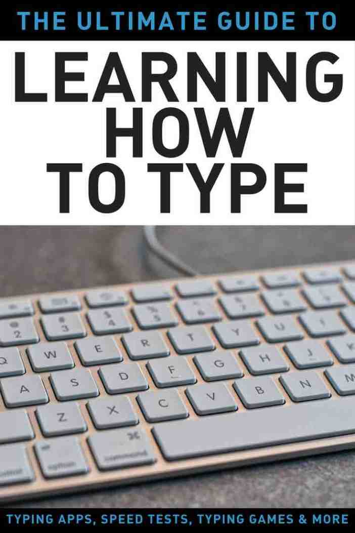 learn how to type guide typing apps speeds tests games and more