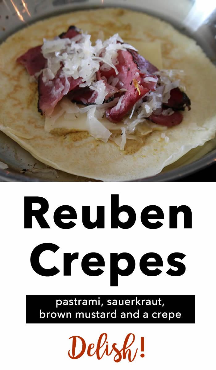 Reuben Crepes