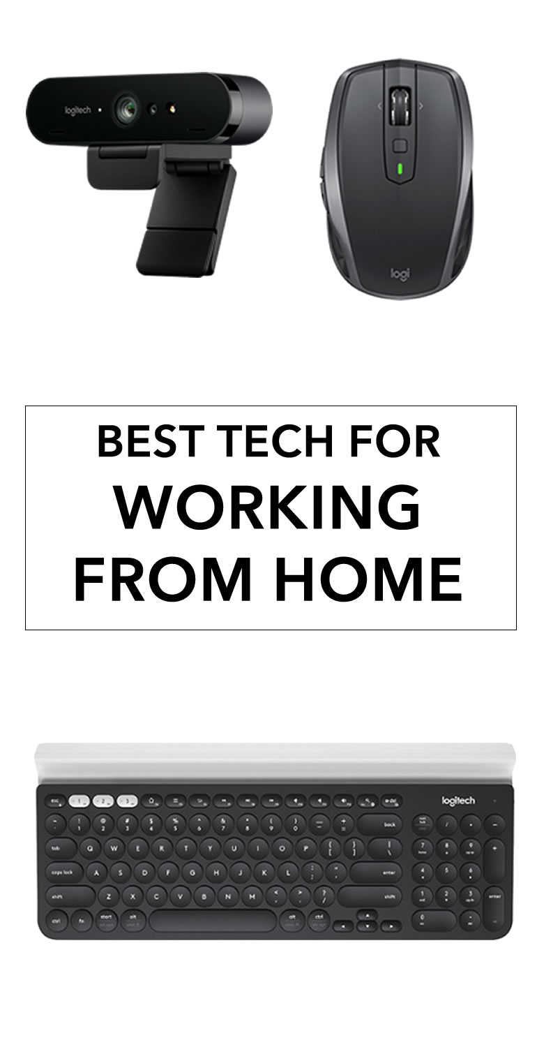 work from home tech logitech